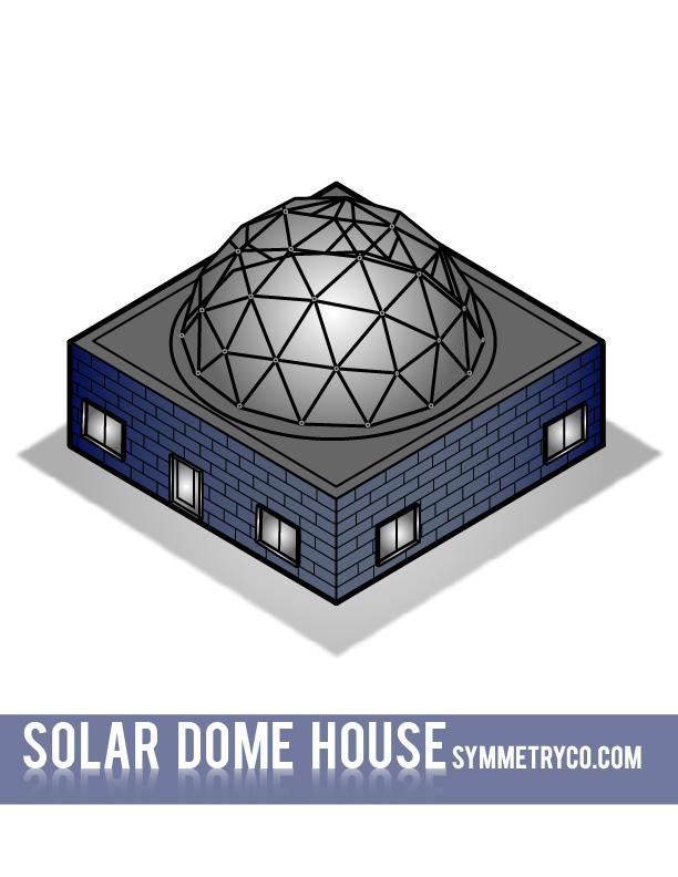 Solar Dome House