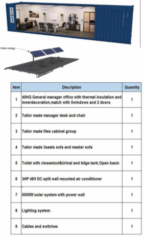 Solar Executive Office Spec