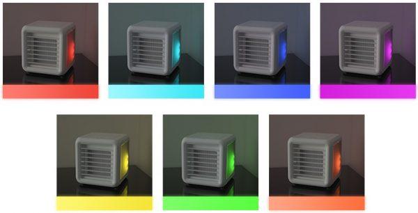 7 LED Colors