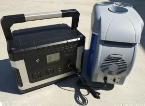 7.5L Car Cooler+ Power Supply