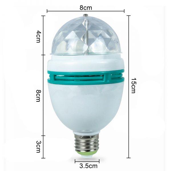 SIngle Head Rotating Bulb