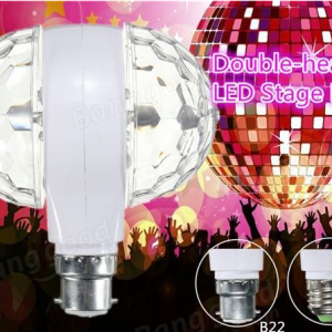 Double Head Rotating Bulb