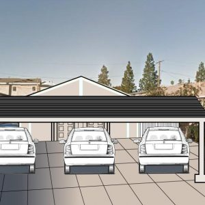Solar Metal Carport