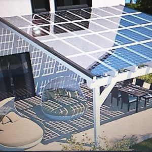 Solar Glass Patio Sample 1