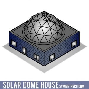 Solar Round Dome House