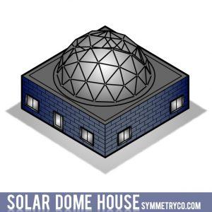 Solar Round Dome House