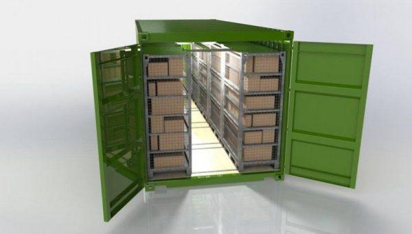 Solar Storage Container