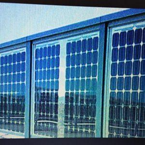 Solar Glass Wall