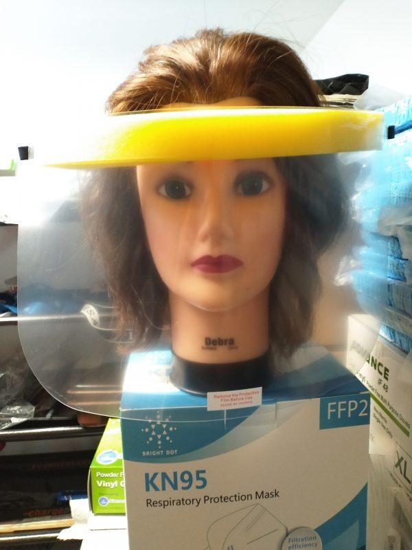 Yellow Band Face Shield
