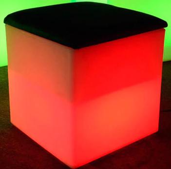 Peach-Cube-Black-Cushion
