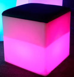 Pink-CubeBlack-Cushion