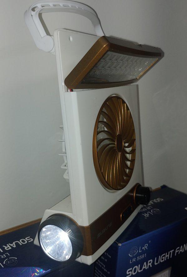 SM-446 Solar Flashlight