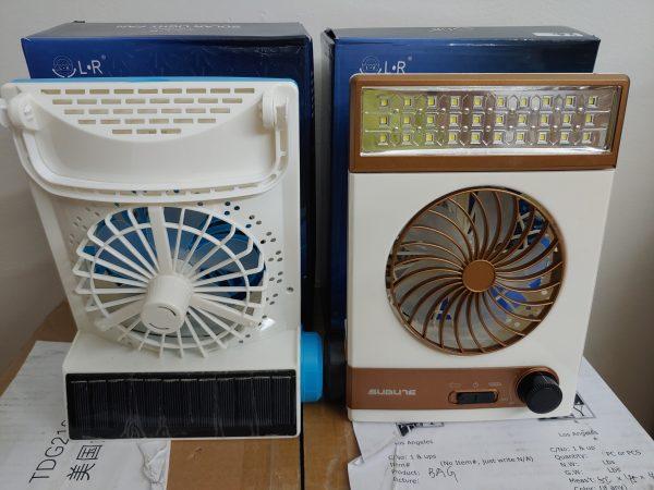 SM-446 Solar Fan Light